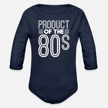 Production Year Product of the 80s - Organic Long-Sleeved Baby Bodysuit