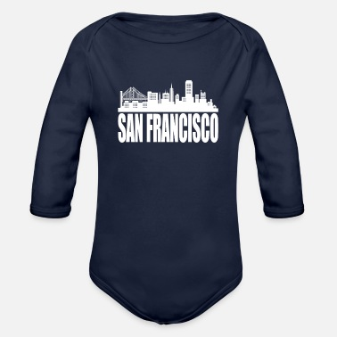 San Francisco San Francisco - Organic Long-Sleeved Baby Bodysuit