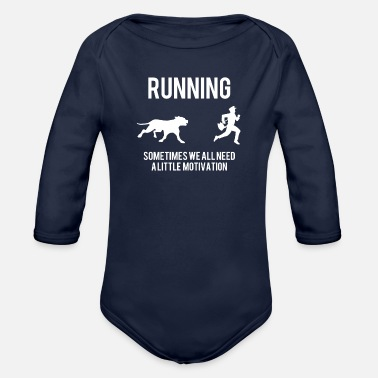 Funny Postal Postal Worker Funny - Organic Long-Sleeved Baby Bodysuit