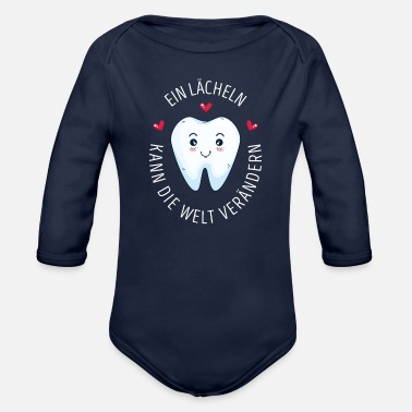 Dental Assistant dental assistant - Organic Long-Sleeved Baby Bodysuit