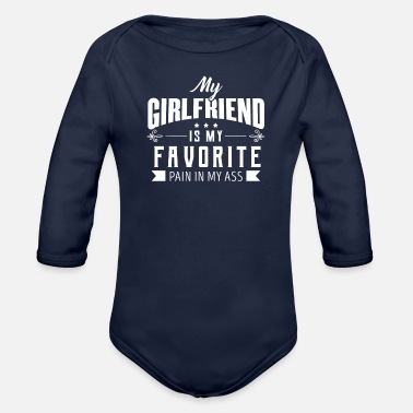 Girlfriend girlfriend - Organic Long-Sleeved Baby Bodysuit