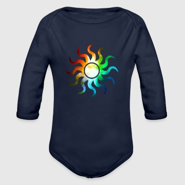 Sun Shine The Sun shine. - Organic Long Sleeve Baby Bodysuit