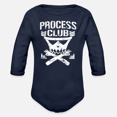 Club The Club - Organic Long-Sleeved Baby Bodysuit