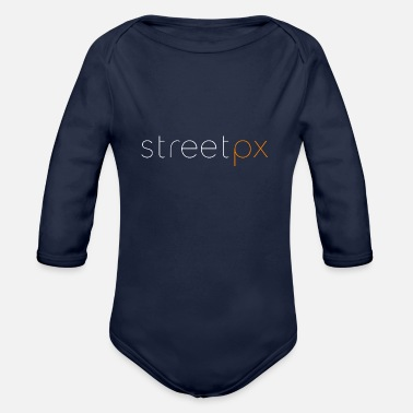 Silicone The Techie - Organic Long Sleeve Baby Bodysuit