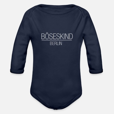 Berlin Berlin - Organic Long Sleeve Baby Bodysuit