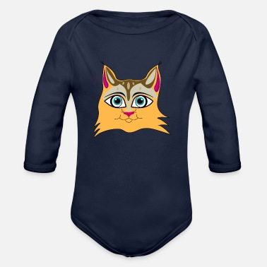 Lynx Art Lynx - Organic Long-Sleeved Baby Bodysuit