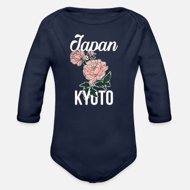 Kyoto Kyoto - Organic Long-Sleeved Baby Bodysuit