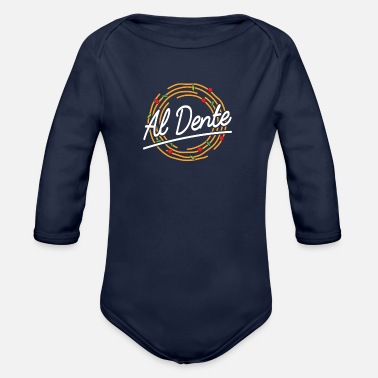 Dent Al Dente - Organic Long-Sleeved Baby Bodysuit