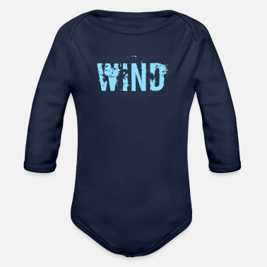 Wind Wind - Organic Long Sleeve Baby Bodysuit