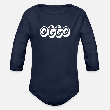 Otto Otto - Organic Long-Sleeved Baby Bodysuit