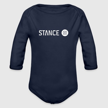 Stance Stance Logo - Organic Long Sleeve Baby Bodysuit