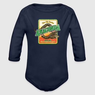 Liquor Anaconda Malt Liquor - Organic Long Sleeve Baby Bodysuit