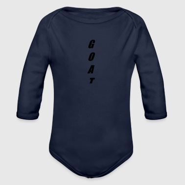 GOAT - Organic Long Sleeve Baby Bodysuit
