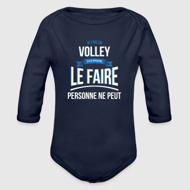 Volley no one can gift - Organic Long Sleeve Baby Bodysuit