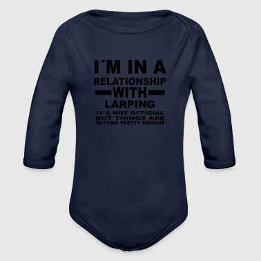 Larp relationship with LARPING - Organic Long Sleeve Baby Bodysuit