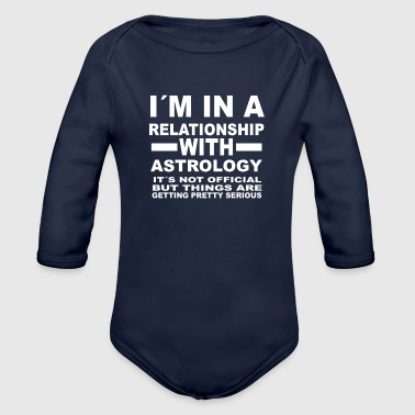 relationship with ASTROLOGY - Organic Long Sleeve Baby Bodysuit