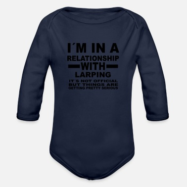 Larp relationship with LARPING - Organic Long-Sleeved Baby Bodysuit