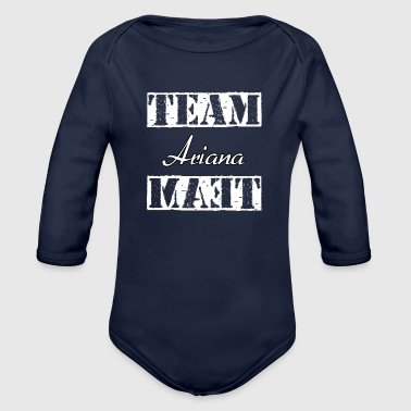 Team Ariana - Organic Long Sleeve Baby Bodysuit