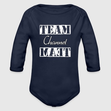 Team Channel - Organic Long Sleeve Baby Bodysuit