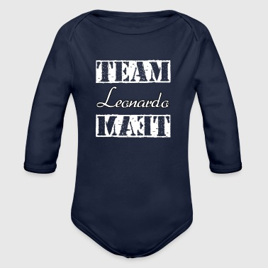 Team Leonardo - Organic Long Sleeve Baby Bodysuit