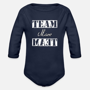 Mare Team Mare - Organic Long Sleeve Baby Bodysuit