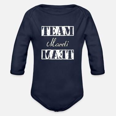 Mare Team Mareli - Organic Long Sleeve Baby Bodysuit