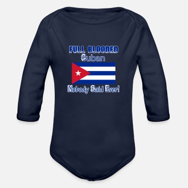 Cuban Cuban designs - Organic Long Sleeve Baby Bodysuit