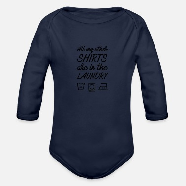 Laundry Laundry - Organic Long-Sleeved Baby Bodysuit