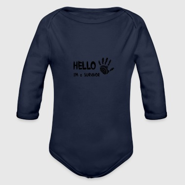 Survivor - Organic Long Sleeve Baby Bodysuit