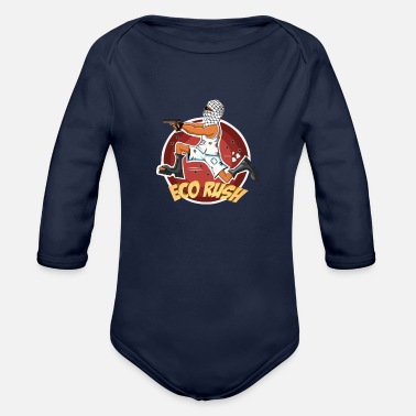 Eco ECO RUSH - Organic Long Sleeve Baby Bodysuit