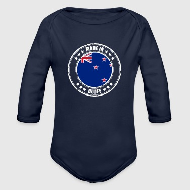 MADE IN BLUFF - Organic Long Sleeve Baby Bodysuit