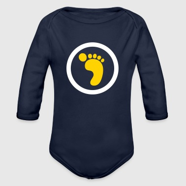 Ecological Footprint - Organic Long Sleeve Baby Bodysuit