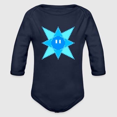 Ice Sprite - Organic Long Sleeve Baby Bodysuit
