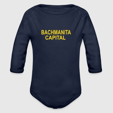 Bachmanita Capital - Organic Long Sleeve Baby Bodysuit