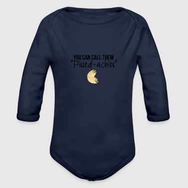 Pissed-achios - Organic Long Sleeve Baby Bodysuit