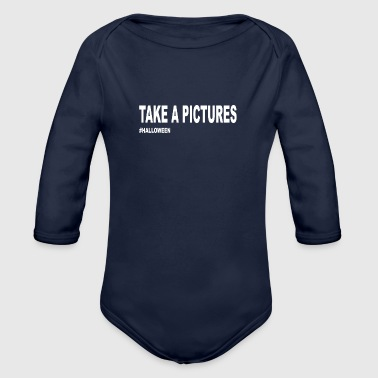 Take a pictures - Organic Long Sleeve Baby Bodysuit