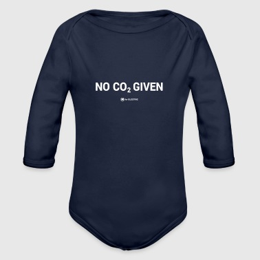 No CO2 Given - Organic Long Sleeve Baby Bodysuit