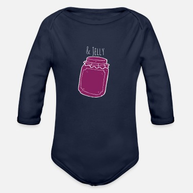 Jelly & Jelly - Organic Long-Sleeved Baby Bodysuit