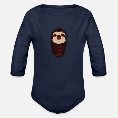 Hunger Demonic Hunger - Organic Long-Sleeved Baby Bodysuit
