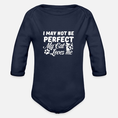 Not Perfect Not perfect - Organic Long-Sleeved Baby Bodysuit