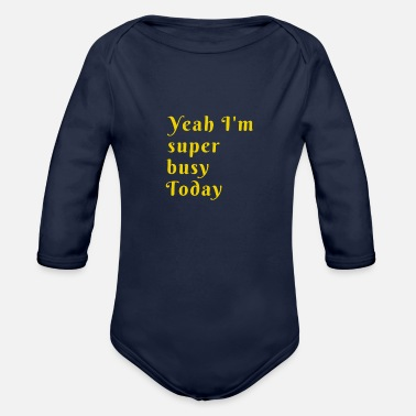 Theme Theme - Organic Long-Sleeved Baby Bodysuit