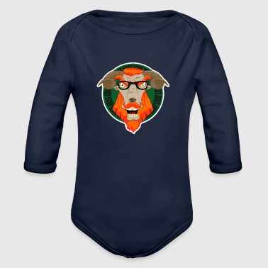 Aries aries - Organic Long Sleeve Baby Bodysuit