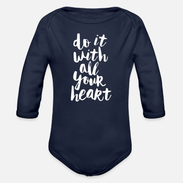 Do It Will - Organic Long-Sleeved Baby Bodysuit