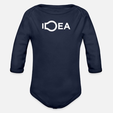 Idea Idea - Organic Long-Sleeved Baby Bodysuit