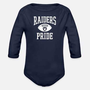 Raider Raider - Organic Long-Sleeved Baby Bodysuit
