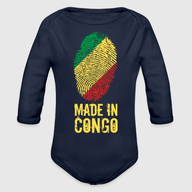 Made In Congo - Organic Long Sleeve Baby Bodysuit