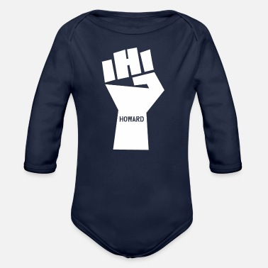 National Games Howard nation - Organic Long-Sleeved Baby Bodysuit