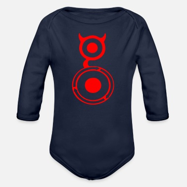 Humour Humour Gogle - Organic Long-Sleeved Baby Bodysuit