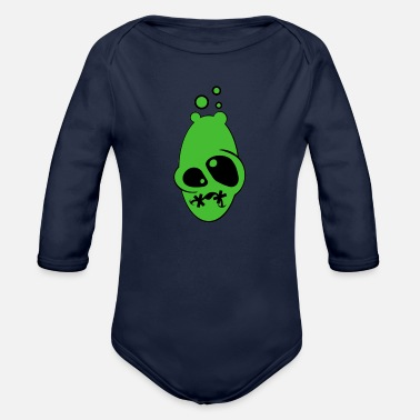 Illness Ill - Organic Long-Sleeved Baby Bodysuit