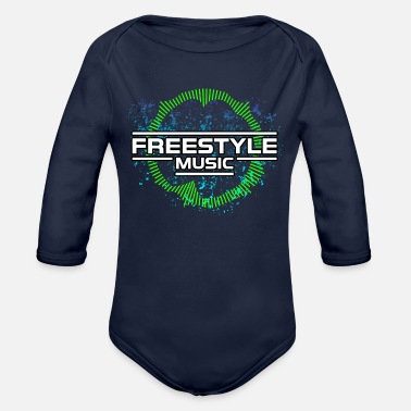 Freestyle Freestyle Music Electro Dance - Organic Long-Sleeved Baby Bodysuit